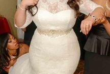 wedding dresses plus size mermaid