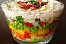 Sałatki / warzywne