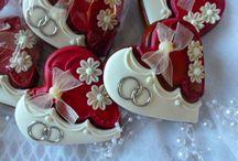 srdíčka svatební