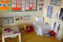 Kleuters thema 'ziekenhuis'