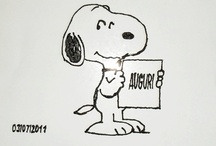 Snoopy / by Disegni su vetro