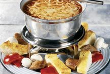 Fondue! / We have a set now we need to use it!