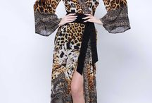 Wrap Dresses & Maxi Dresses / Designer wrap dresses | long maxi dresses | Shahida Parides. Large Selection of long wrap dress, robes, long robes and robe dresses in prints - floral print dress, cheetah print dress, leopard print, plaid print, gingham print dress and more