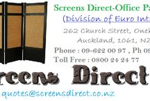 Office Buy / Screens Direct Office Partition Screens & Office Furniture Desk Partitions or Office Renovations wall partitions. Made in New Zealand, Best quality and price. Division of Euro Interiors 262 Church Street Onehunga, Auckland New Zealand 09-63 63 421 Quotes@screensdirect.co.nz http://screensdirect.co.nz/