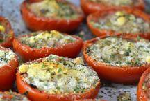 Receta de tomates.