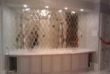 Custom Mirrors / Custom Mirrors fabricated & Installed By Echols Glass
