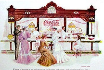 Vintage  Coca~Cola ads & signs / This board is for my husband, the Coca-Cola Lover.....