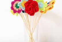 Crochet Flower Patterns / It's like running through a field of flowers! Customize a project or make a lovely garland with these bright and gorgeous crochet flower patterns! Find the patterns to download as PDFs and get started today on LoveCrochet!