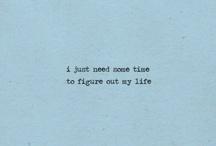 Blue tumblr quotes
