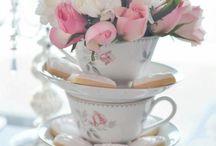 mesas dulces romantic vintage