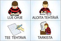 Ohjeita koulutyöhön