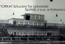 Torkat / Old ice rink in Katowice, Poland
