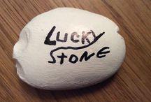 stenen / steen decoraties