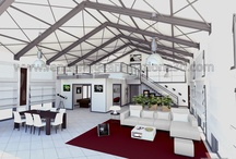 Loft moderno / rendering loft moderno