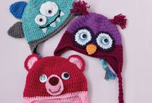 animal/character hat  crochet / by Haley Hare