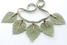 Crochet accessories Necklaces