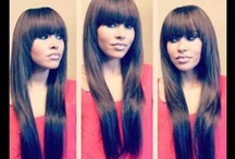 Hair Styles / This board has different hair styles from curled to cut in a bob.  Hair colors some of the most outrageous or a lovely ombré. Theany different sew in weaves: / by Lee'Chell Wilbourn