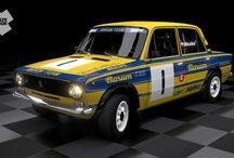 F. Mikoška – J. Mikoška (VAZ 20011) / Retro Barum Rally Team styled design and wrap for Barum Rally Historic 2012.