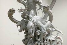 скульптура. sculpture.