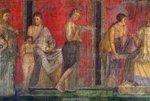 ΠΟΜΠΗΪΑ......Roman fresco from Pompeii / Τοιχογραφίες....fresque.... Pompeii...(Italy)...Roman wall painting