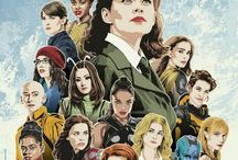 ♥Ladies Of Marvel♥ / #marvelstudios #marvelentertainment #mcu #marvelcinematicuniverse #brielarson #caroldanvers #captainmarvel #hayleyatwell #peggycarter #agentcarter #virginiagardner #chloebennet #daisyjohnson #quake