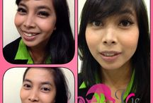 My result makeup / My job , i love makeup