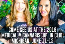 2016 Michigan Medical Cannabis Cup, June 11-12 / Looking forward to see you at the first ever all medical #CannabisCup. Come find us at the Auto City Speedway in Clio, Michigan
