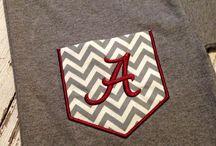 Alabama Roll Tide items/ideas / by Myra Bruso