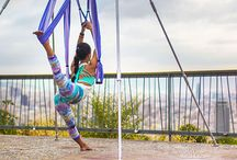 Yoga Inversion, Trapeze, Swing & Hammock / Yoga Trapeze, Inversion Exercises & Benefits, Inversion Therapy, Yoga Back Bends, Powerful Core & Upper Body Strengthening