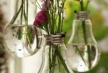 Don't Toss It, Upcycle It / Neat ways to upcycle old household items.