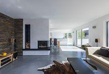 Wohnzimmer / Traumhafte Wohnideen der KitzlingerHaus Bauherren