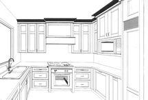 3D Designs kitchens - 3D návrhy kuchýň