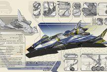 Sci Fi planes