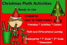 Christmas maths Activities