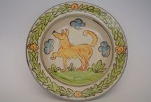 Animals / Various animals brought to life on plates or bowls.  To be used everyday or put on display