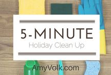 Cleaning Tips and Ideas / by Amy Volk