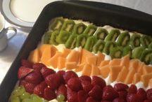 Lækker frugtkage