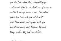 Quotes / by Kaycee Meeks