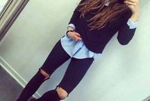 outfits tumblr invierno