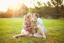 Couple Session at Lincoln Park with Dog