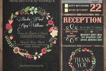 <invitation inspiration> / by Jade Marmalaide ✞