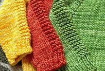 Aprenda a fazer tricô & TUNISIANO :
