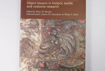 Textiles Revealed Object Lessons in Historic Textile and Costume Research Philip A Sykas / This book brings together papers by leading authorities in textile and costume studies, including historians, curators and conservators discussing a wide range of textiles and costumes from tapestries to embroideries, archaeological to ethnographic textiles and exotic costumes at the Danish court as well as European dress in Japan. / by Trinity Antiques