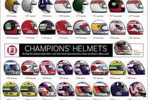 Formula 1 Helmets