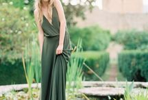 Pantone colour of the year 2017 Greenery / Pantone colour of the year 2017 Greenery - inspiration for wedding dresses, flowers, photography, table settings, bridesmaids, grooms
