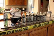 21st  cops and robbers theme