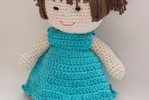 Boneca em Crochê - Artelier AS e CRJr