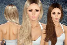 Sims 3 CC Hair