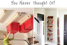 Clever ideas / Clever tricks and tips for around the home!