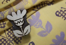 Design your own fabric - Block Printing / to see our extensive range of wooden printing blocks, for designing fabric, quilts, patchwork, embroidery and many other craft ideas, go to  www.colouricious.com / by Colouricious Creatives